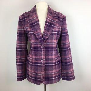 Chadwick's Wool Single Button Blazer
